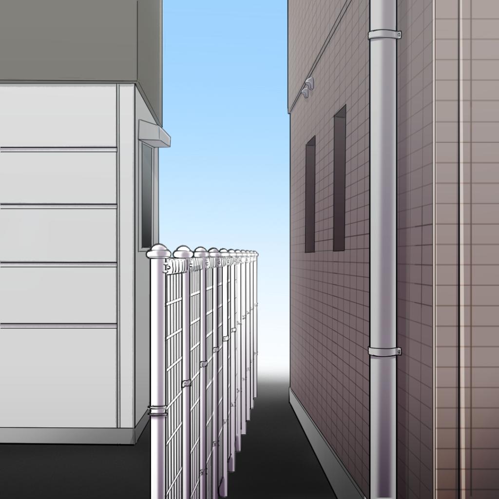 住宅イラスト左側